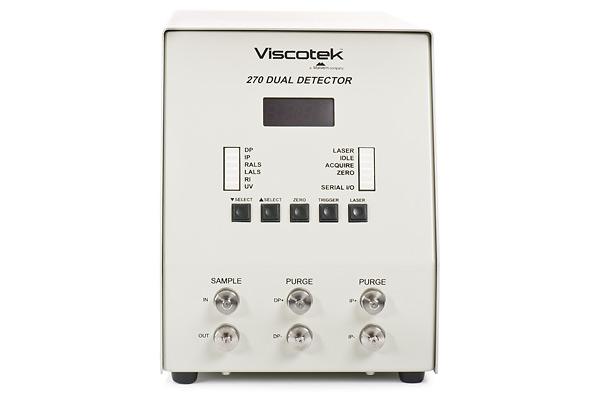 Malvern : Viscotek 270 Detector
